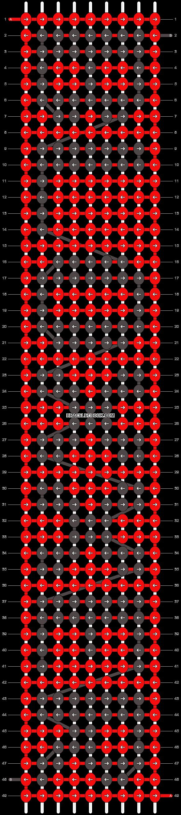 Alpha pattern #5820 pattern