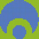 Alpha pattern #5821