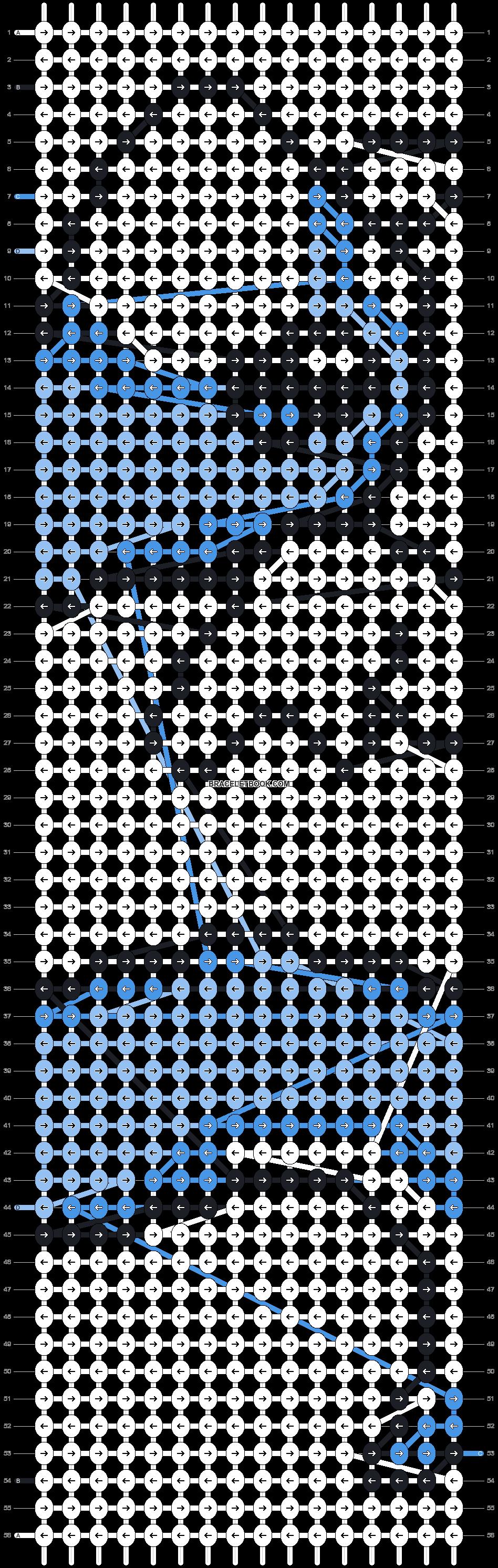 Alpha pattern #5823 pattern