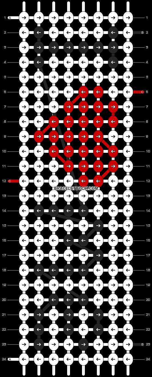 Alpha pattern #5830 pattern