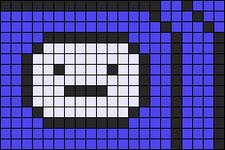 Alpha pattern #5832
