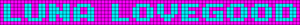 Alpha pattern #5849