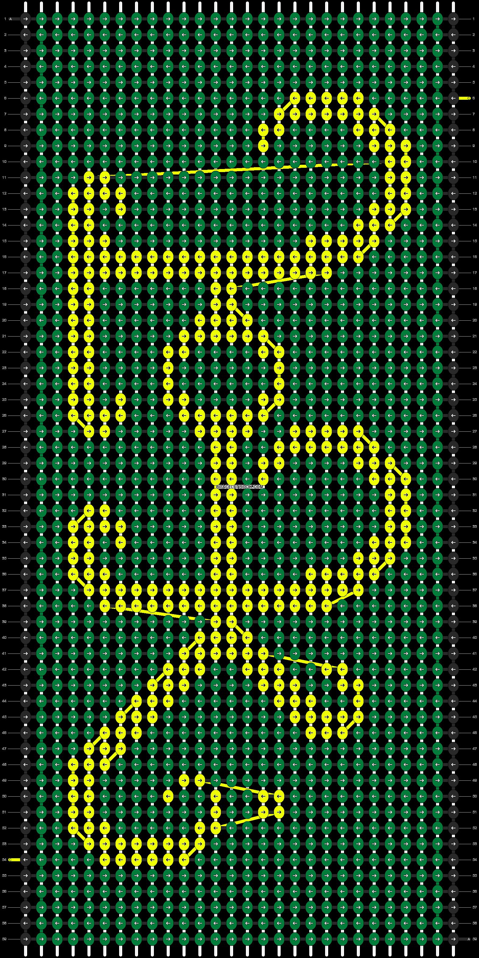 Alpha pattern #5857 pattern