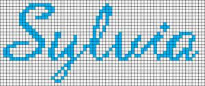 Alpha pattern #5862