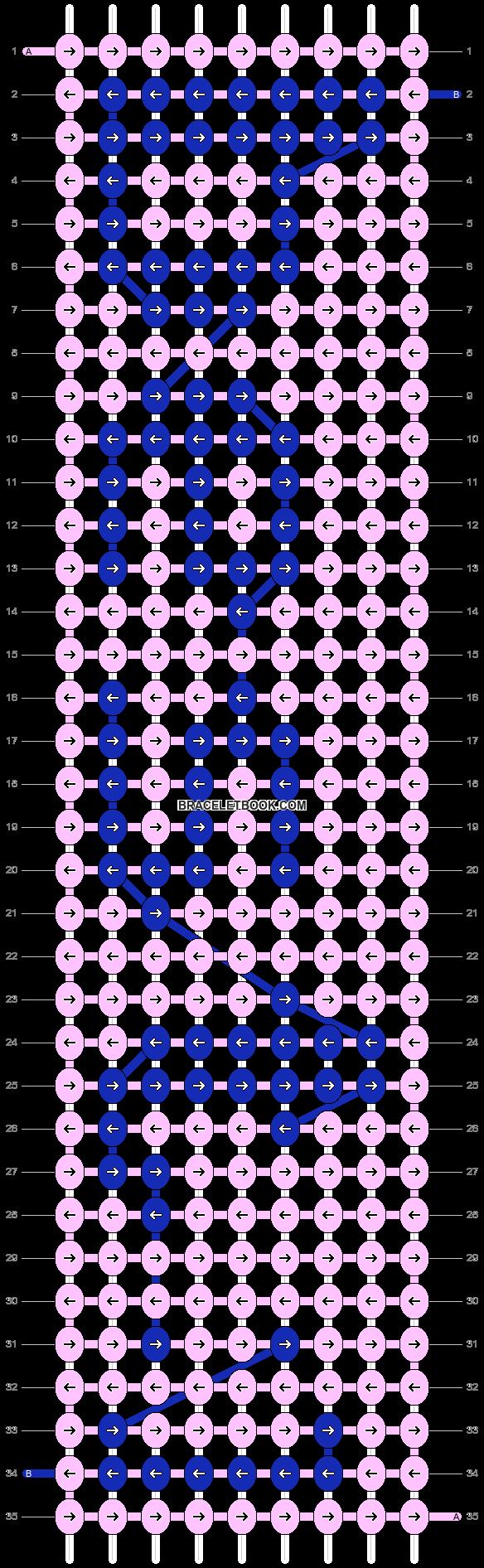 Alpha pattern #5863 pattern