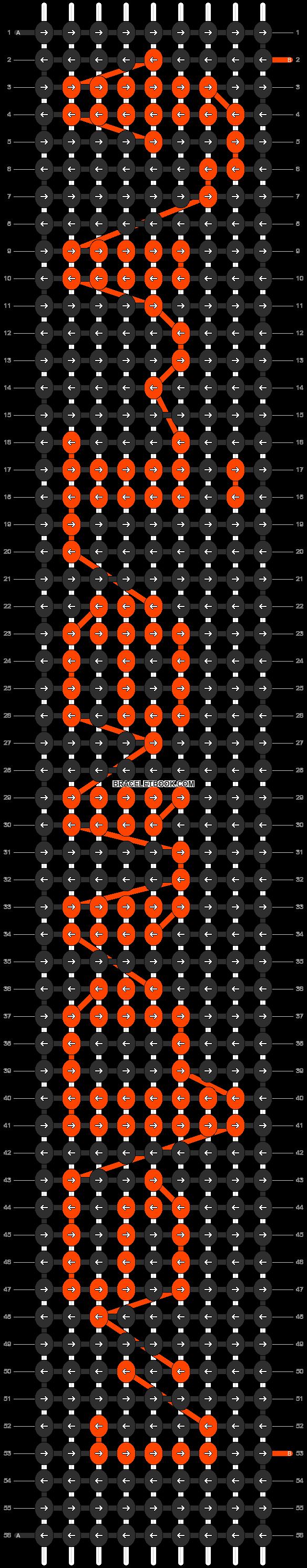 Alpha pattern #5864 pattern