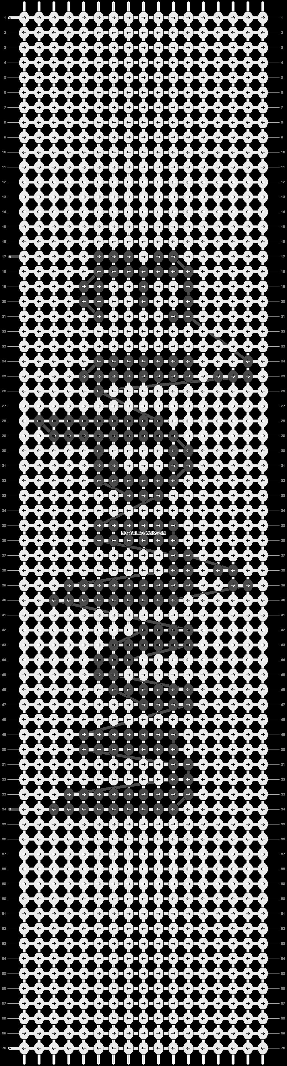 Alpha pattern #5867 pattern