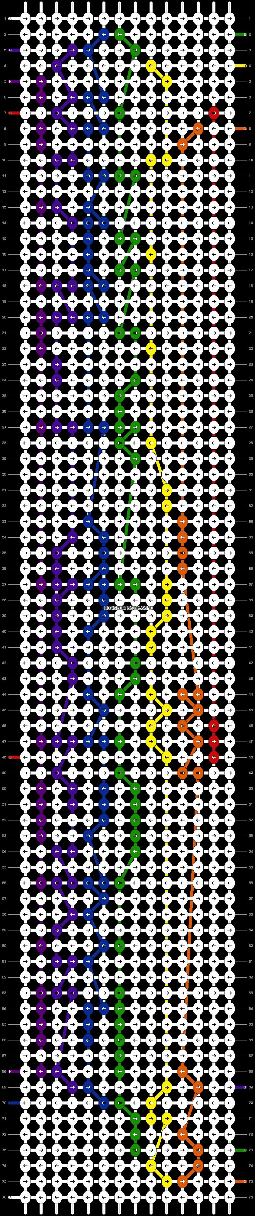 Alpha pattern #5869 pattern