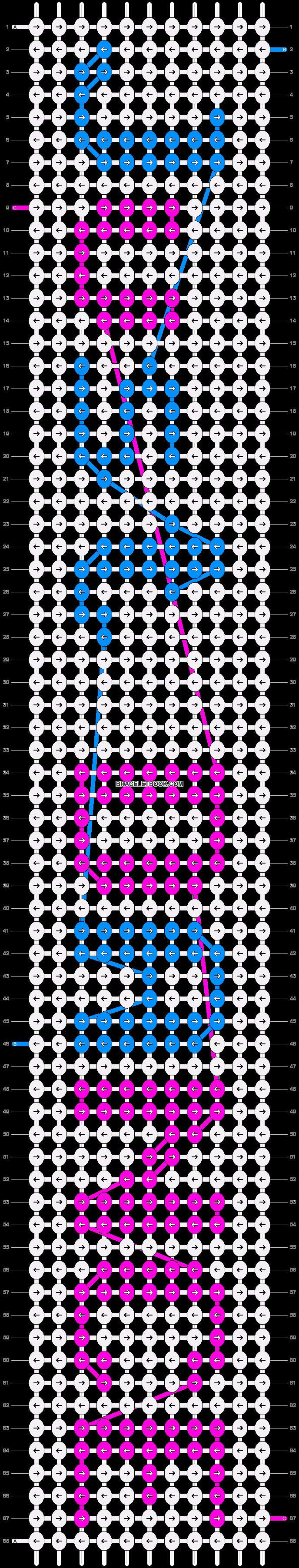Alpha pattern #5870 pattern
