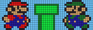 Alpha Friendship Bracelet Pattern #5871