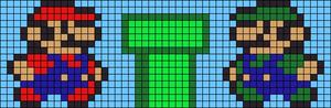 Alpha pattern #5871