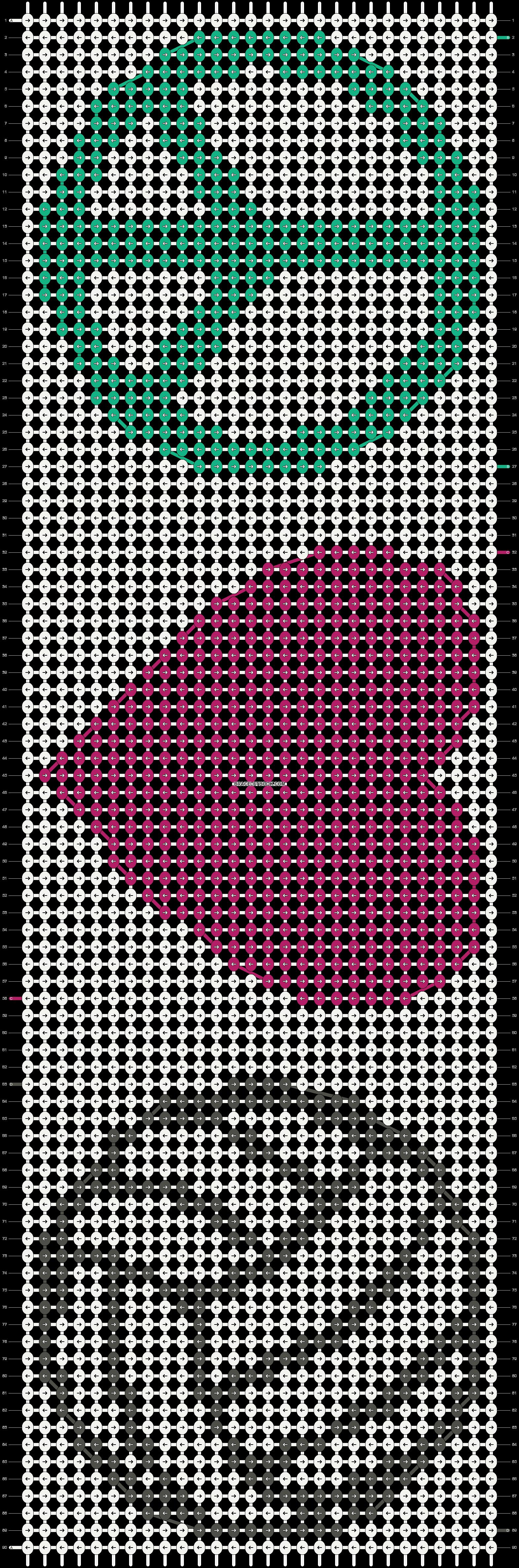 Alpha pattern #5878 pattern