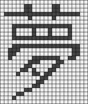 Alpha pattern #5886