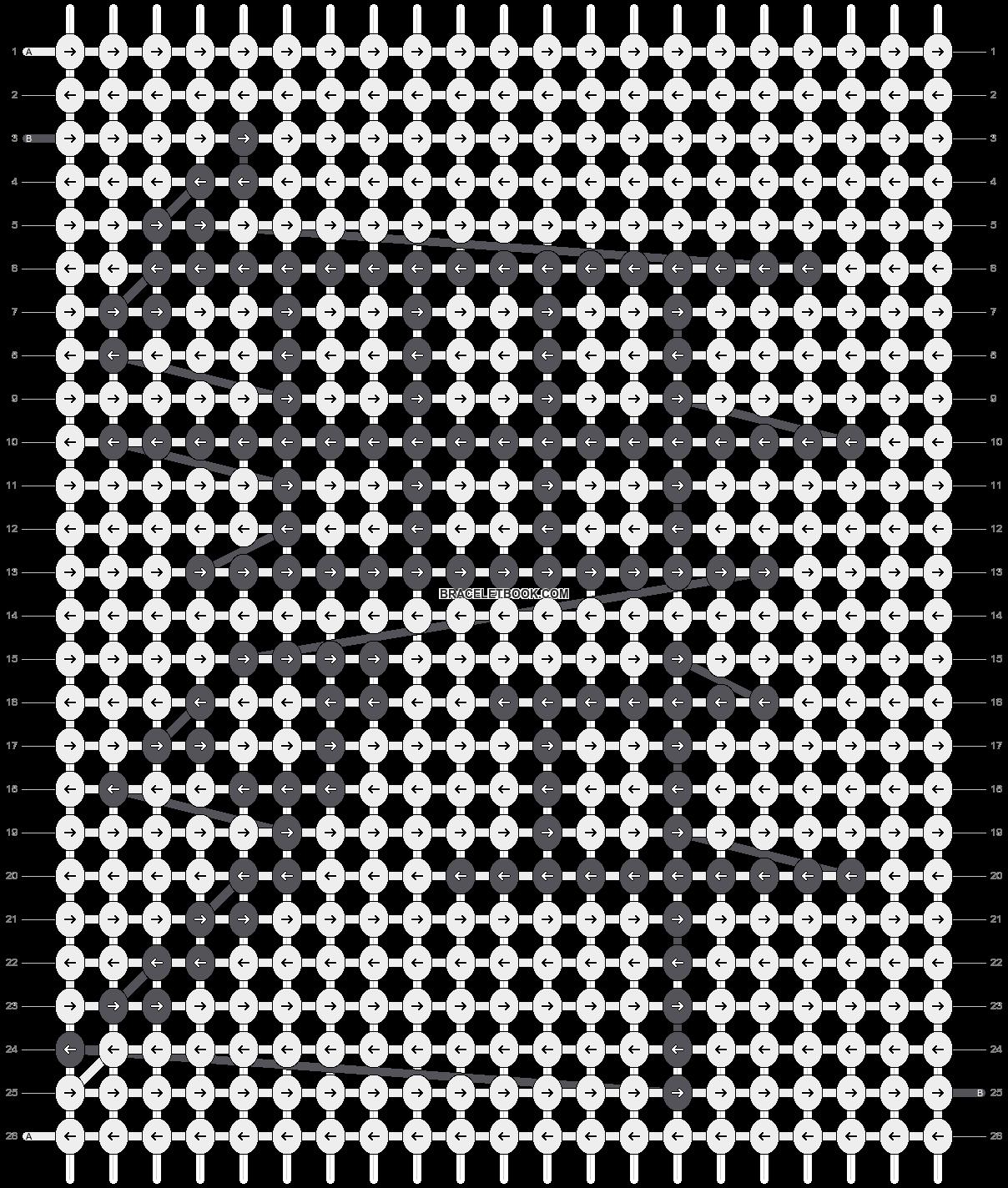 Alpha pattern #5887 pattern