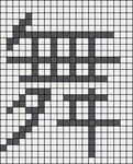 Alpha pattern #5887