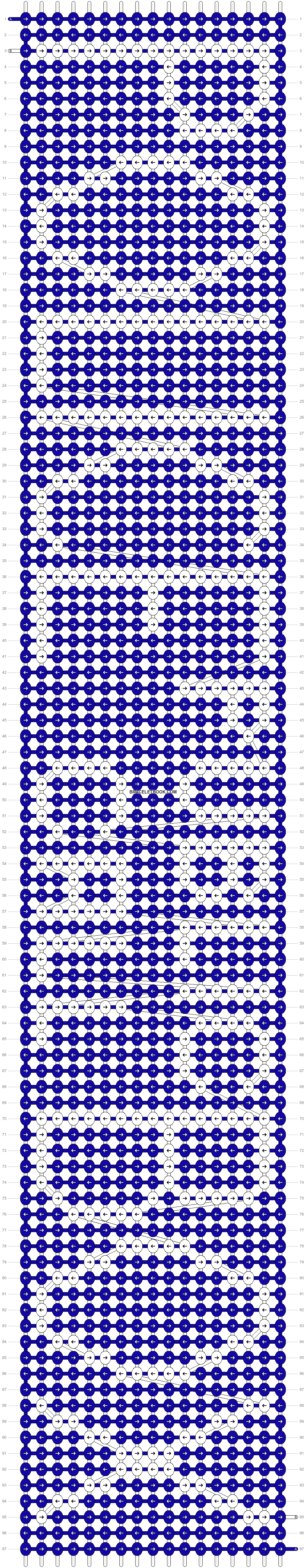 Alpha pattern #5888 pattern