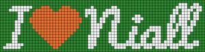 Alpha Friendship Bracelet Pattern #5889
