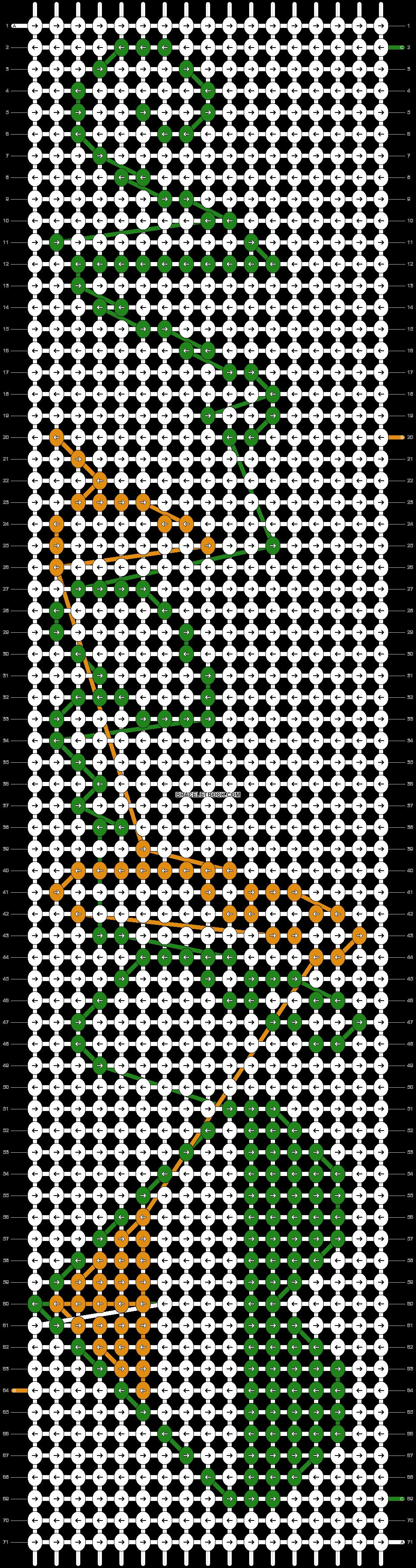 Alpha pattern #5891 pattern