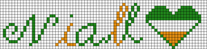 Alpha pattern #5891