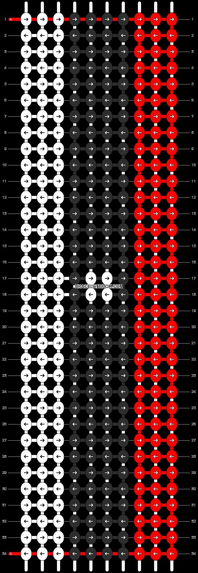Alpha pattern #5900 pattern