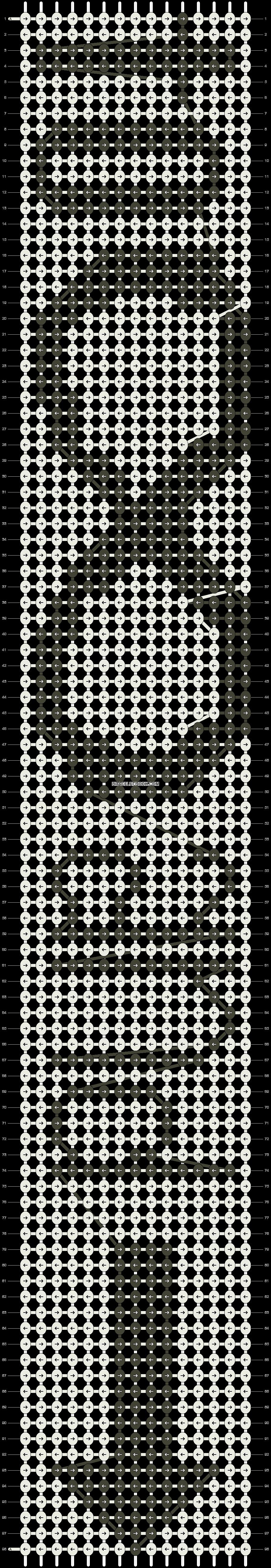 Alpha pattern #5907 pattern