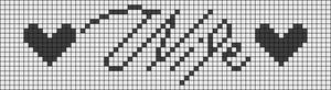 Alpha Friendship Bracelet Pattern #5909