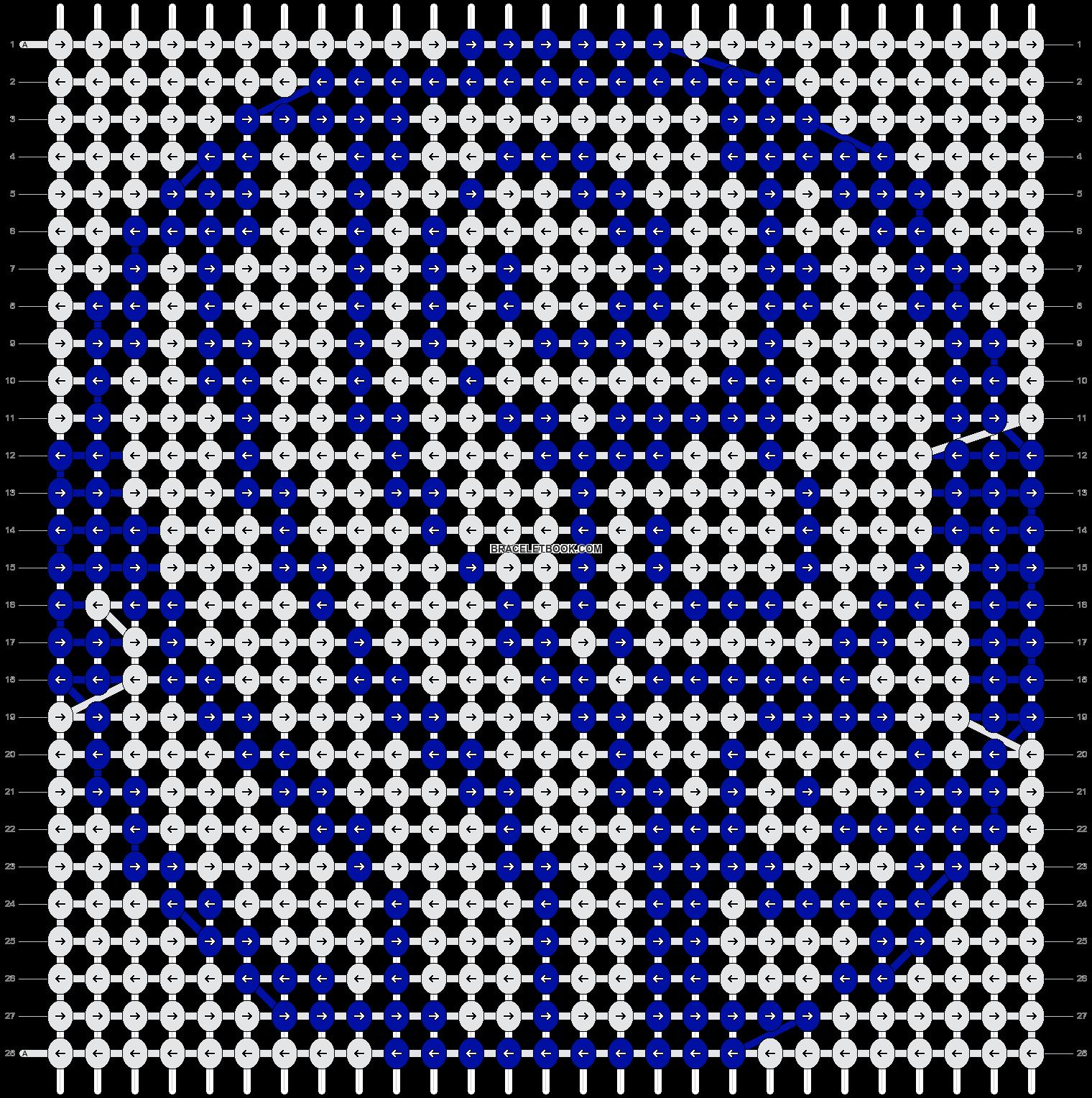 Alpha pattern #5912 pattern