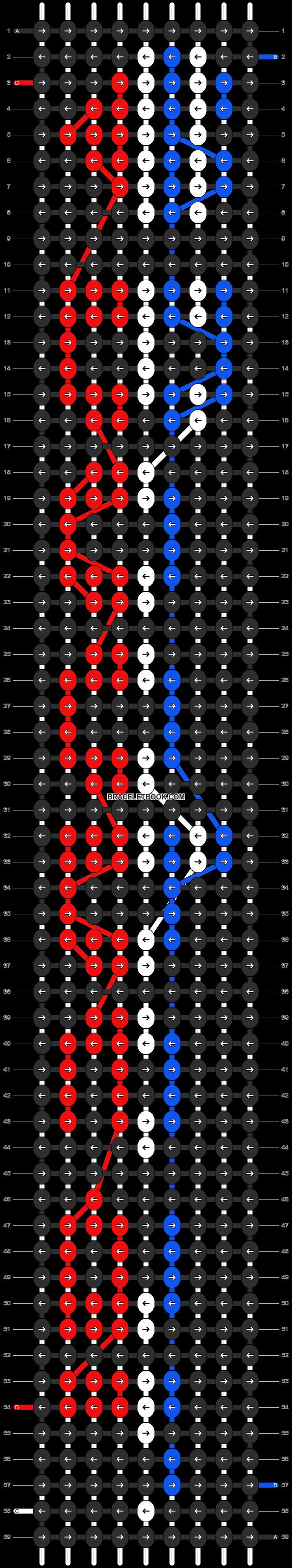 Alpha pattern #5914 pattern