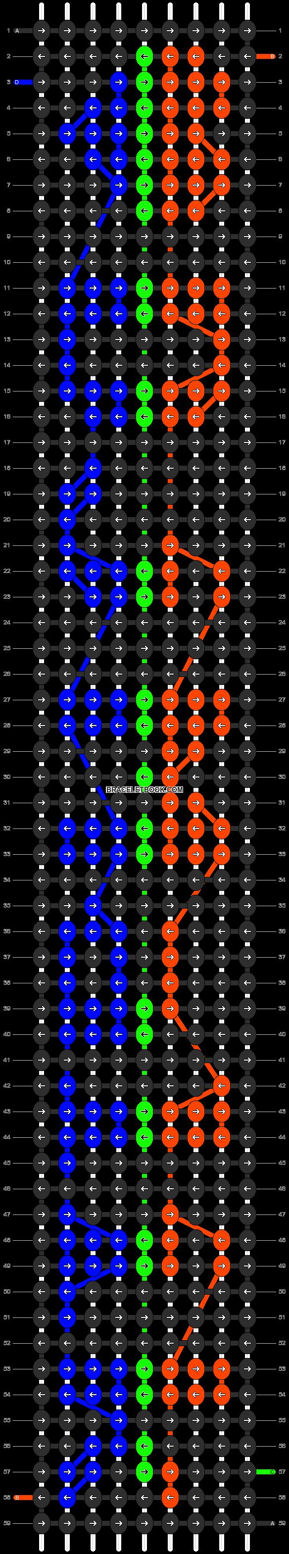 Alpha pattern #5915 pattern