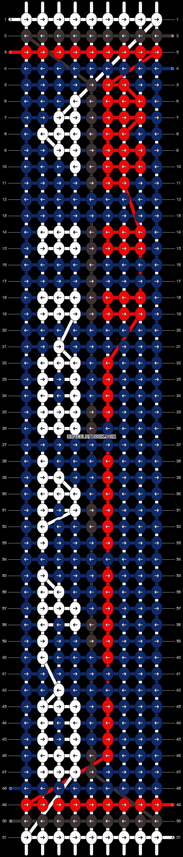 Alpha pattern #5916 pattern
