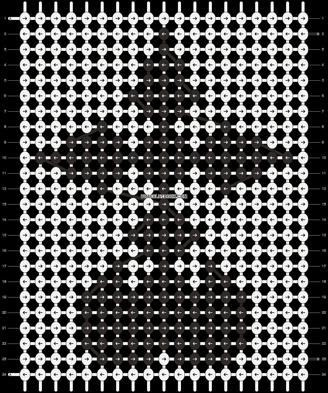 Alpha pattern #5918 pattern