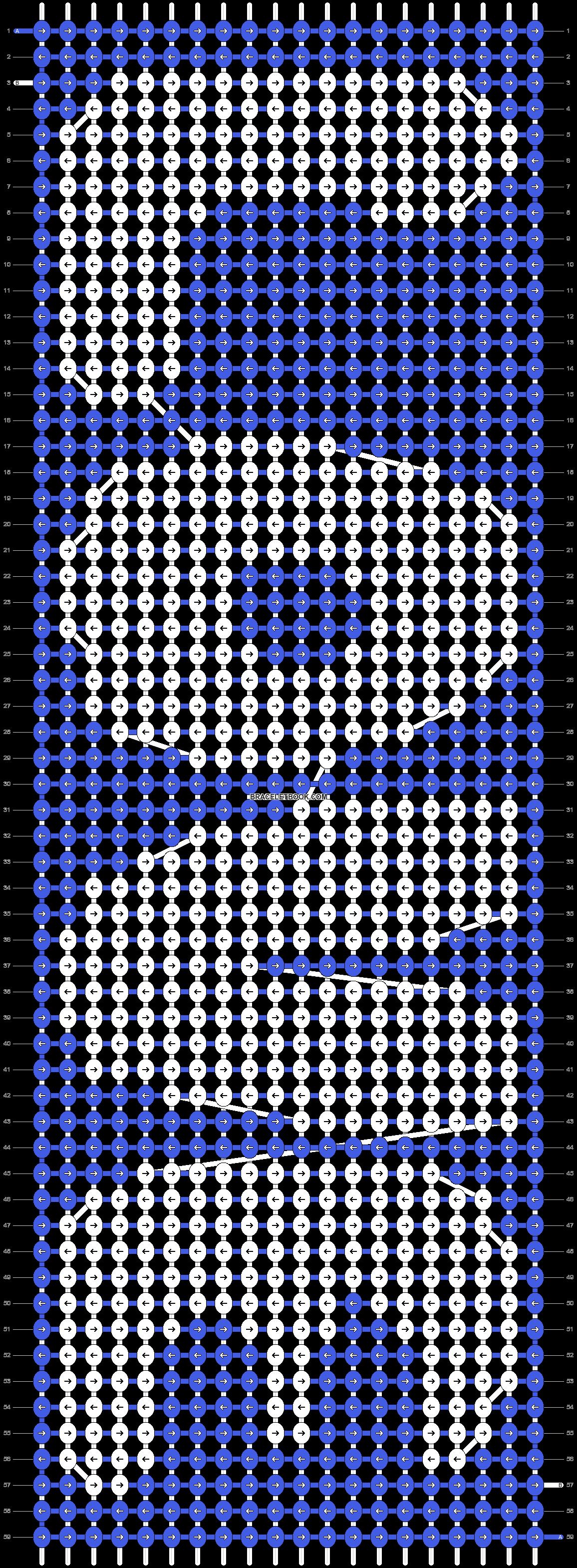 Alpha pattern #5920 pattern