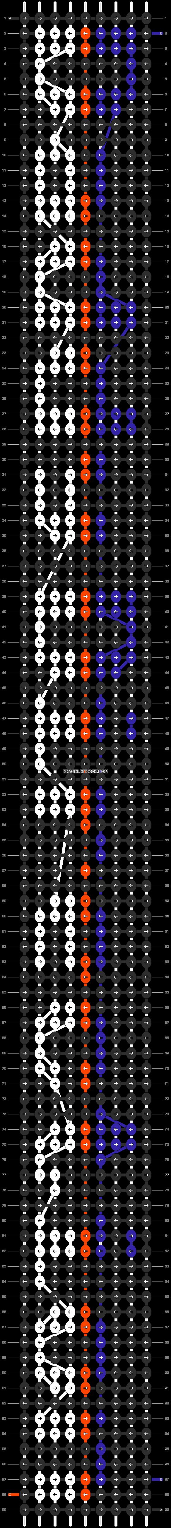 Alpha pattern #5921 pattern