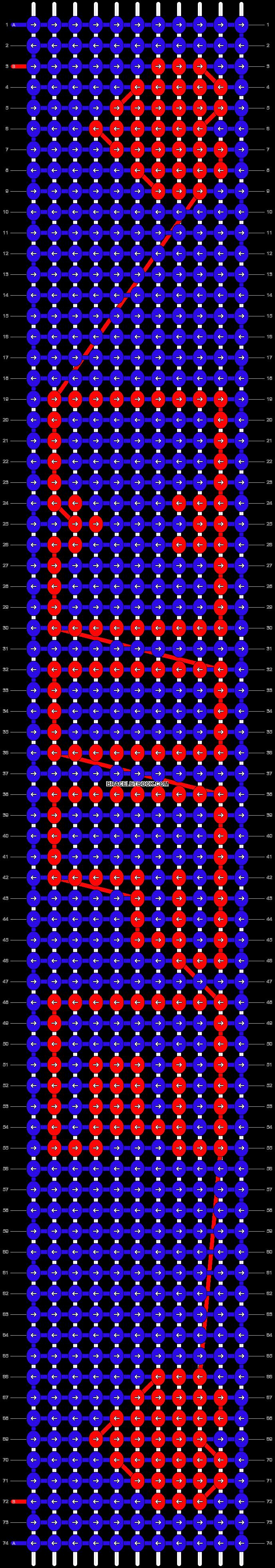Alpha pattern #5924 pattern