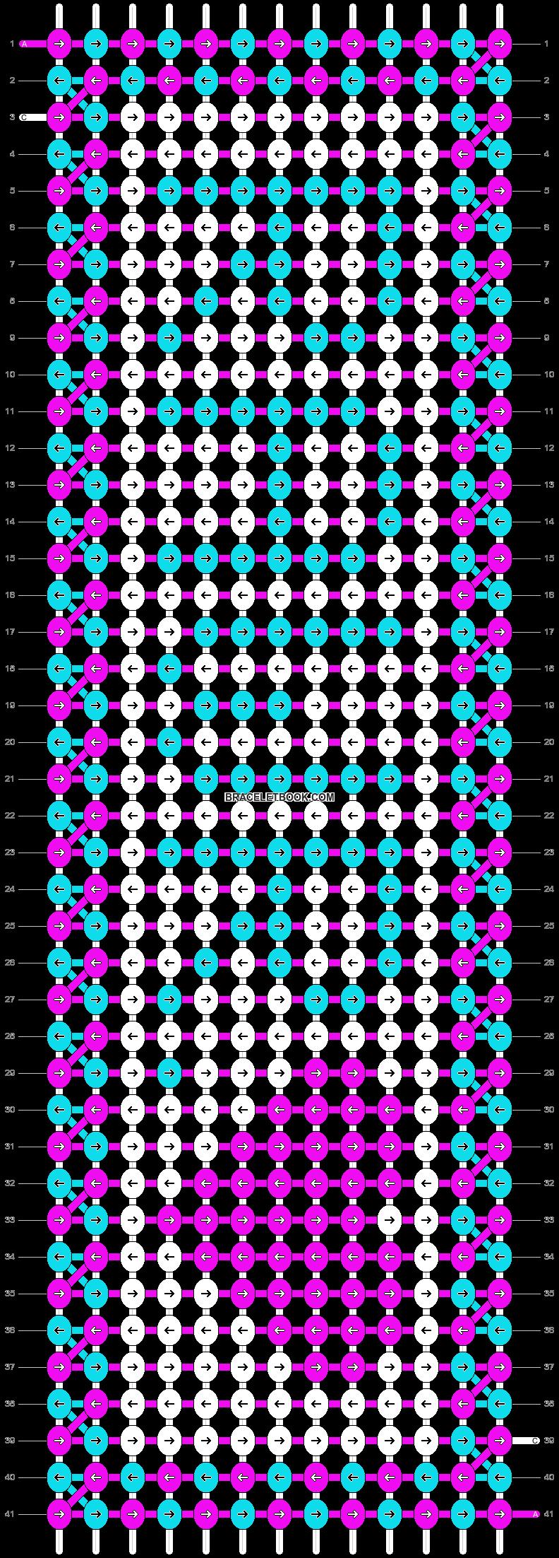 Alpha pattern #5927 pattern