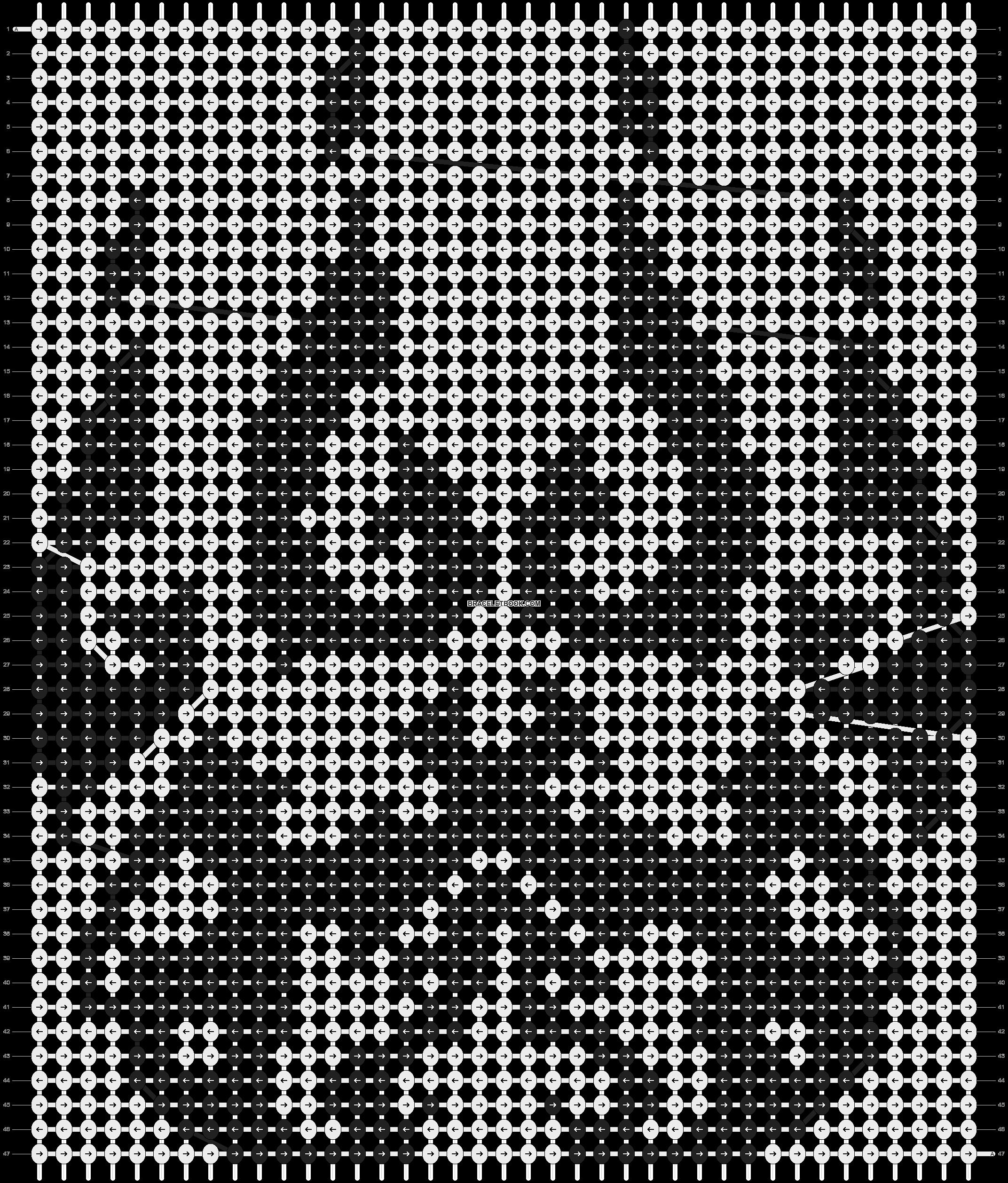 Alpha pattern #5928 pattern