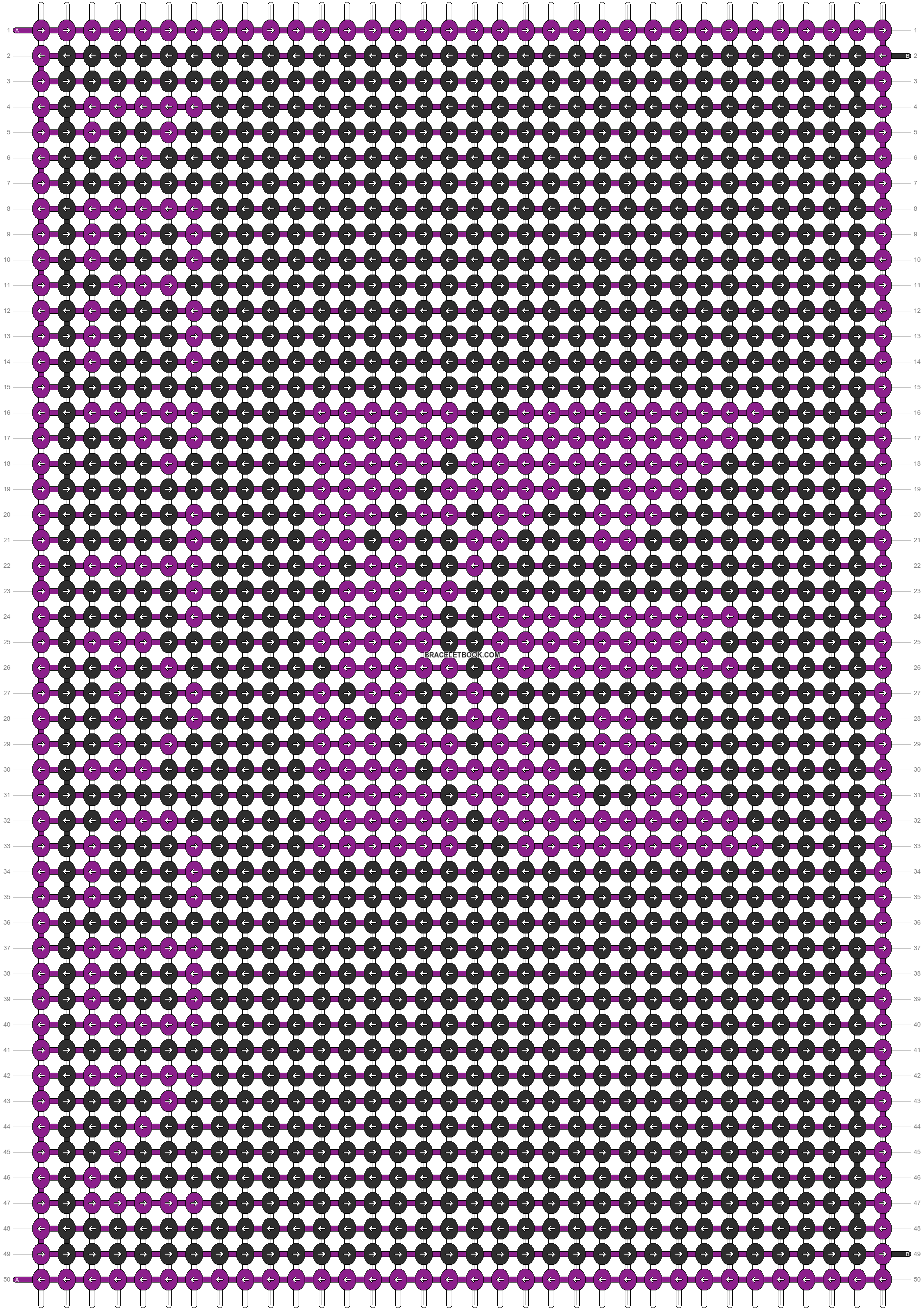 Alpha pattern #5931 pattern