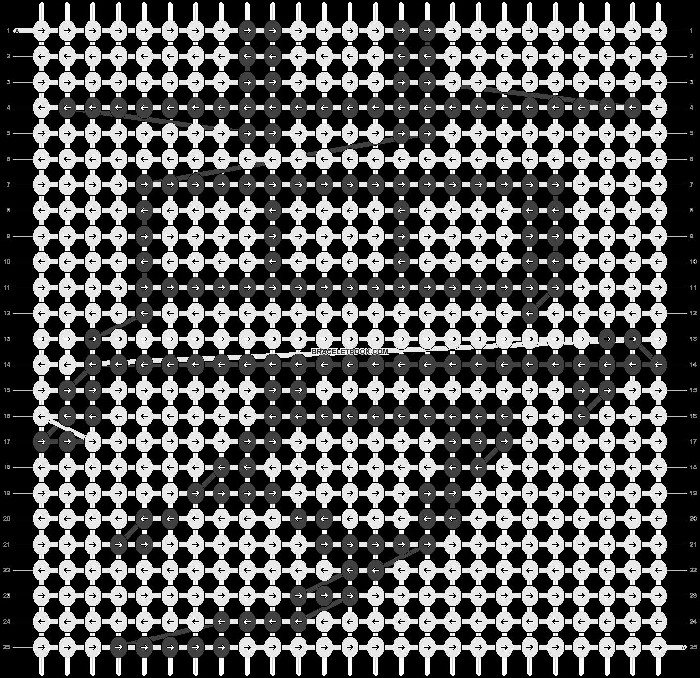 Alpha pattern #5935 pattern