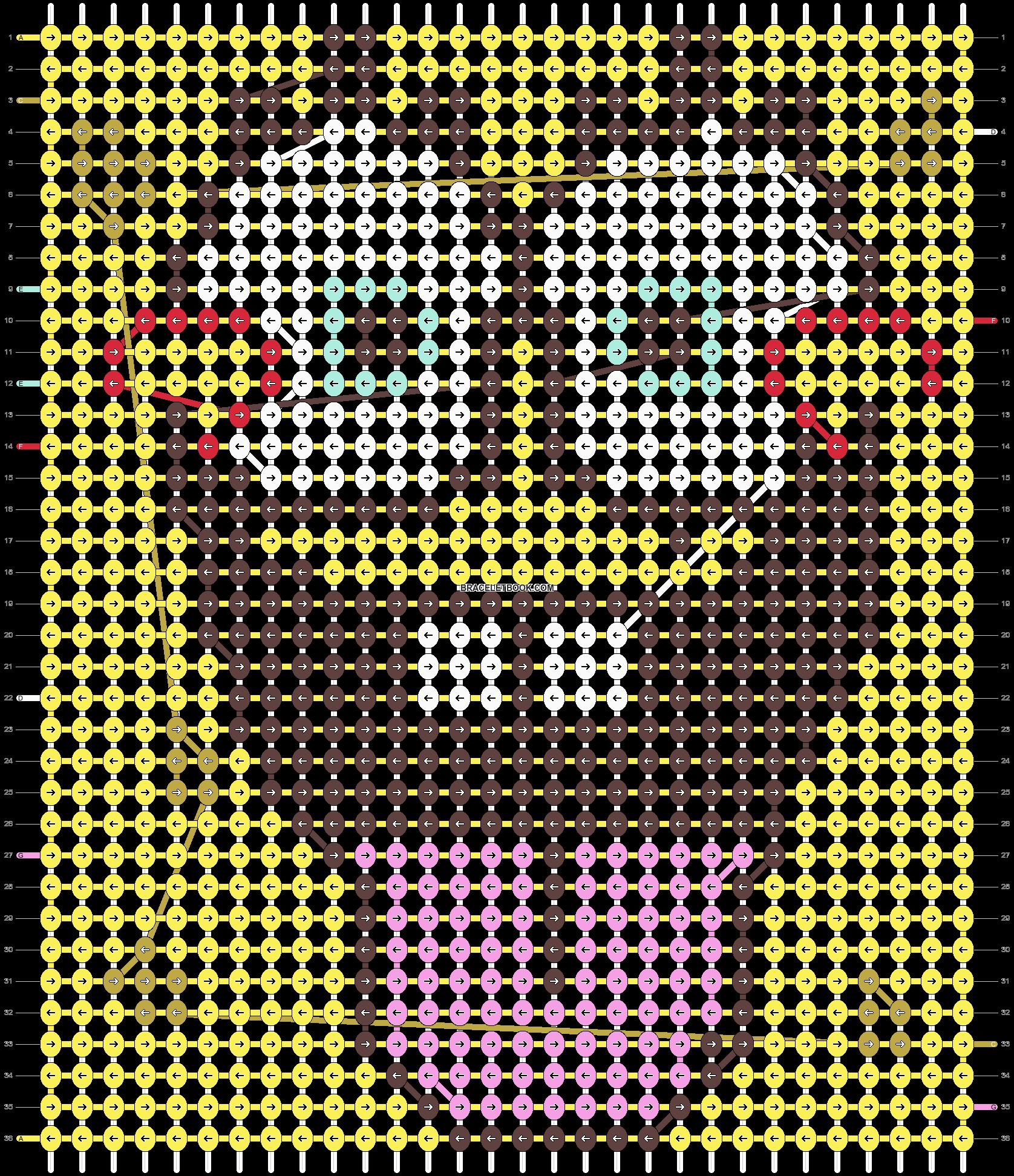 Alpha pattern #5940 pattern