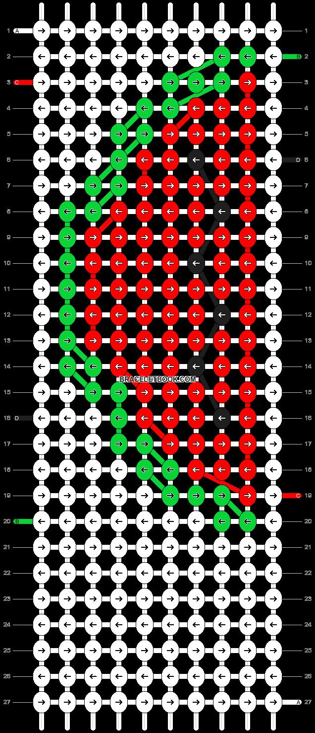 Alpha pattern #5942 pattern
