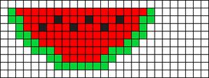 Alpha Friendship Bracelet Pattern #5942