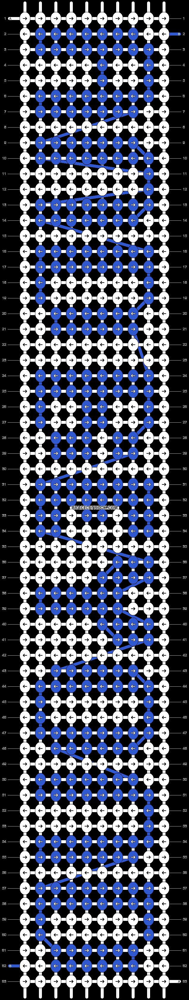 Alpha pattern #5943 pattern