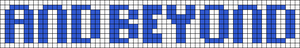 Alpha Friendship Bracelet Pattern #5943