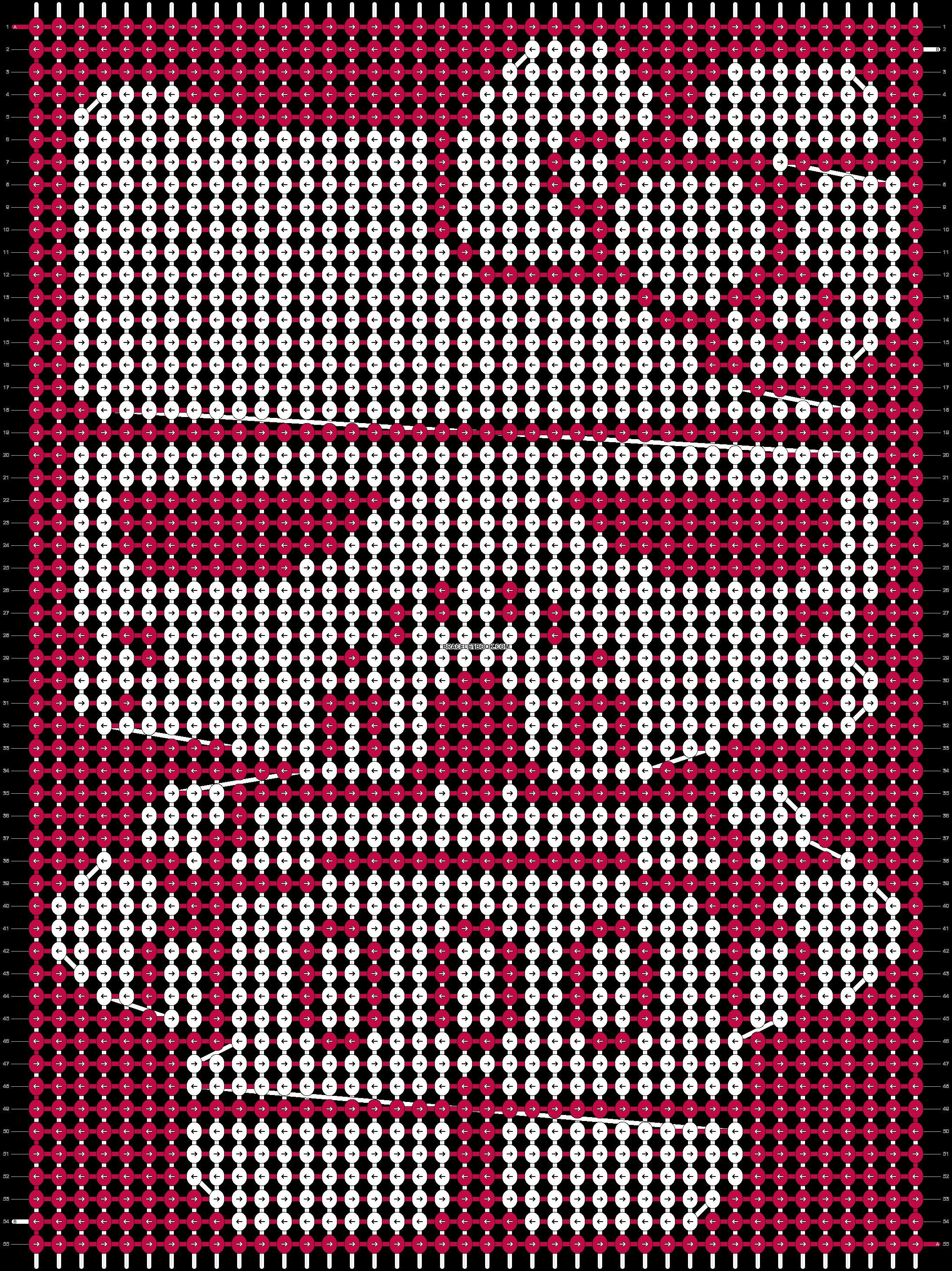 Alpha pattern #5944 pattern