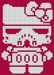 Alpha Friendship Bracelet Pattern #5944