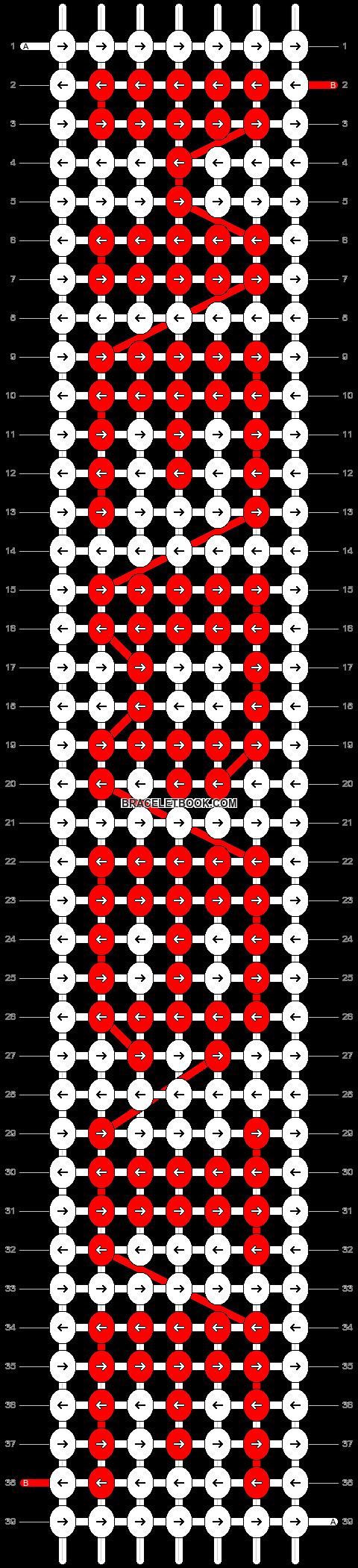 Alpha pattern #5947 pattern