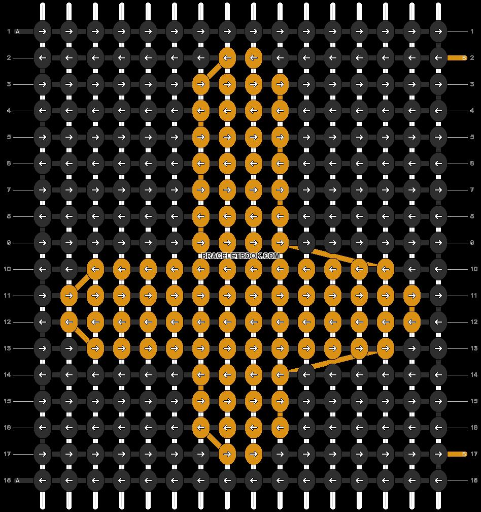 Alpha pattern #5952 pattern