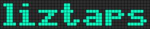 Alpha Friendship Bracelet Pattern #5955