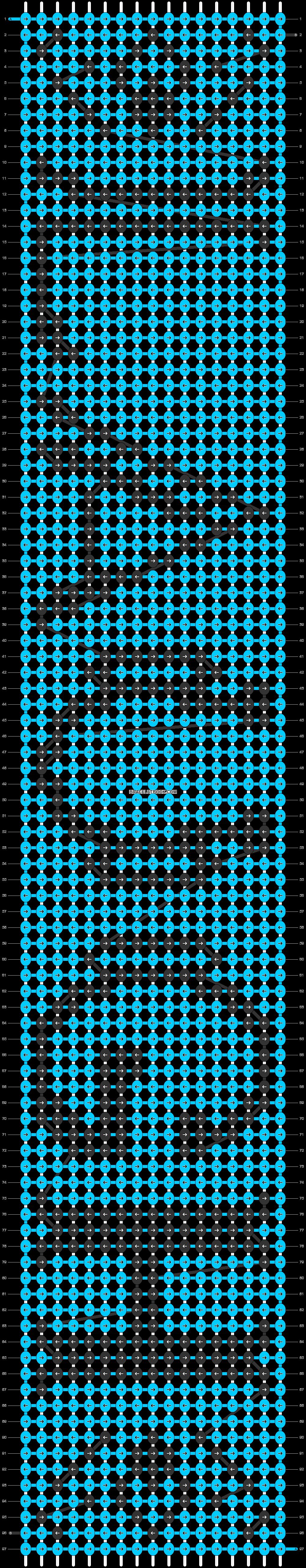 Alpha pattern #5957 pattern