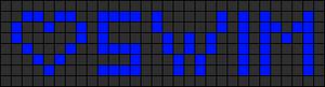 Alpha Friendship Bracelet Pattern #5958